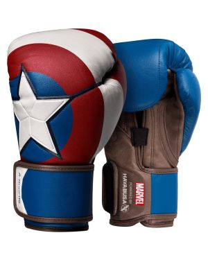 Captain America Boxing Gloves-Red/White/Blue