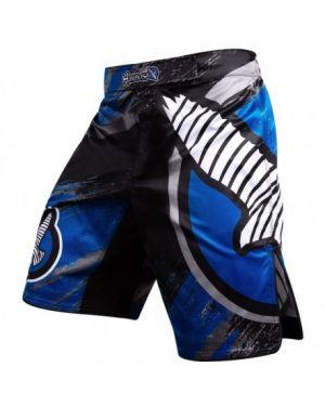 Chikara 3 Fight Shorts Blue-34