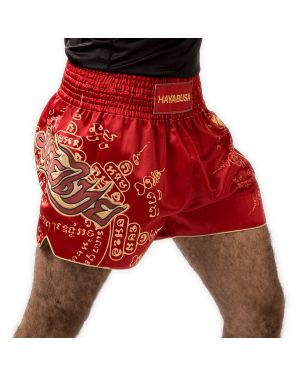 FALCON MUAY THAI SHORTS RED