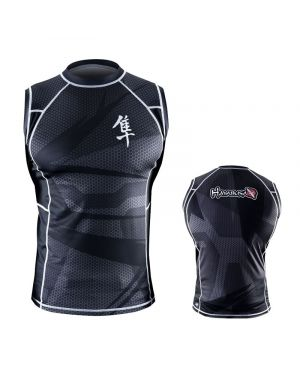 Metaru 47 Silver Rashguard Sleeveless