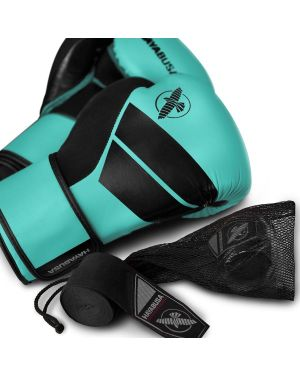 S4 BOXING GLOVE KIT TEAL w/ FREE handwraps and washbag
