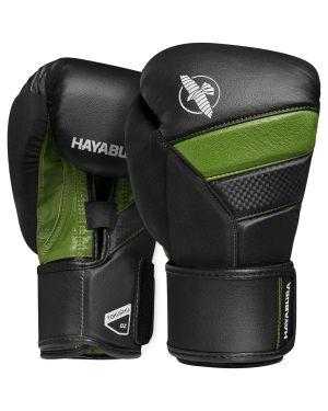 T3 Boxing Gloves - Black/Green