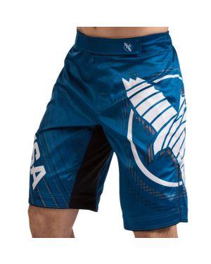 Chikara 4 Fight Shorts - Blue