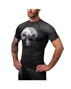 The Punisher Short Sleeve Rash Guard