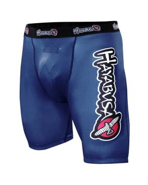 Haburi Compression Shorts 1.0 Blue - Large