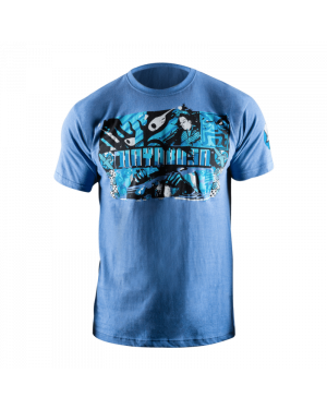Samurai T-Shirt - Blue