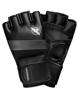 T3 MMA 4oz Gloves-Black/Grey